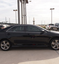 toyota camry 2012 black sedan se sport limited edition 4 cylinders automatic 76011