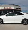 toyota camry 2012 white sedan se sport limited edition 4 cylinders automatic 76011