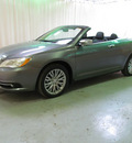 chrysler 200 convertible 2013 dk  gray limited 6 cylinders automatic 44883