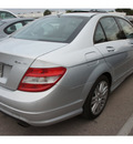 mercedes benz c class 2008 silver sedan c300 4matic luxury gasoline 6 cylinders all whee drive automatic 78729