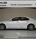 lexus ls 460 2011 white sedan navigation gasoline 8 cylinders all whee drive automatic 55391