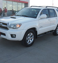 toyota 4runner 2007 white suv sport edition gasoline 6 cylinders rear wheel drive automatic with overdrive 77864