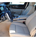 bmw 7 series 2013 white sedan 750i gasoline 8 cylinders rear wheel drive automatic 77002