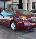 nissan altima 2011 dk  red sedan 2 5 s gasoline 4 cylinders front wheel drive shiftable automatic 77477