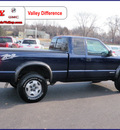 chevrolet s 10 2003 blue ls zr2 gasoline 6 cylinders 4 wheel drive automatic 55124