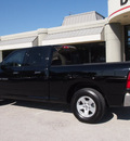 ram 1500 2012 black pickup truck slt flex fuel 8 cylinders 2 wheel drive automatic 76011