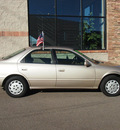 toyota camry 1999 beige sedan le gasoline 4 cylinders front wheel drive automatic 80229