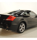 honda accord 2011 black coupe ex l v6 gasoline 6 cylinders front wheel drive automatic 77025