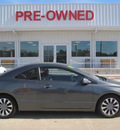 honda civic 2009 dk  gray coupe ex gasoline 4 cylinders front wheel drive automatic 77301