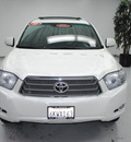 toyota highlander hybrid 2010 white suv limited hybrid 6 cylinders all whee drive automatic 91731