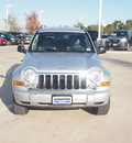 jeep liberty 2007 silver suv limited gasoline 6 cylinders 4 wheel drive automatic with overdrive 76137