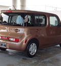nissan cube 2011 brown suv 1 8 s gasoline 4 cylinders front wheel drive automatic with overdrive 77477