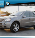 mercedes benz m class 2007 beige suv ml63 amg gasoline 8 cylinders 4 wheel drive automatic 77002