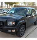 honda ridgeline 2013 black pickup truck sport gasoline 6 cylinders 4 wheel drive automatic 77339