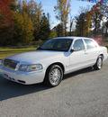 mercury grand marquis 2006 white sedan ls premium flex fuel 8 cylinders rear wheel drive automatic 75657