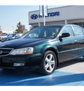 acura tl 2002 dk  green sedan 3 2 type s gasoline 6 cylinders front wheel drive automatic 77094