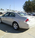ford fusion 2008 lt  gray sedan i4 se gasoline 4 cylinders front wheel drive automatic 75503