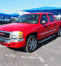 gmc sierra 1500 2007 red sl gasoline 8 cylinders rear wheel drive automatic 76234