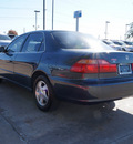honda accord 1998 blue sedan ex 4 cylinders automatic 75070