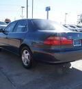 honda accord 1998 blue sedan ex 4 cylinders automatic 75070