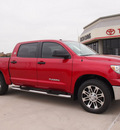 toyota tundra 2013 red gasoline 8 cylinders 2 wheel drive automatic 76011