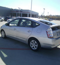 toyota prius 2008 silver hatchback standard hybrid 4 cylinders front wheel drive automatic 75503