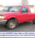 ford ranger 1998 red pickup truck xlt gasoline 4 cylinders rear wheel drive manual 45840