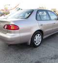 toyota corolla 1998 gold sedan le gasoline 4 cylinders front wheel drive 5 speed manual 45840