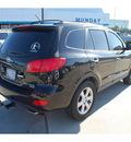 hyundai santa fe 2007 black suv limited gasoline 6 cylinders front wheel drive automatic 77090