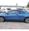 honda civic 2010 blue coupe ex gasoline 4 cylinders front wheel drive automatic 77074