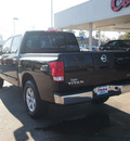 nissan titan 2012 black sv gasoline 8 cylinders 2 wheel drive automatic with overdrive 77657