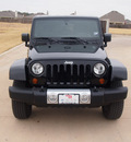 jeep wrangler unlimited 2011 black suv 70th anniversary gasoline 6 cylinders 4 wheel drive automatic 76049