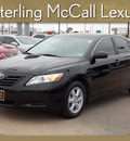 toyota camry 2009 black sedan le gasoline 4 cylinders front wheel drive automatic 77074
