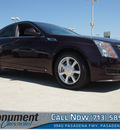 cadillac cts 2009 dk  red sedan 3 6l v6 gasoline 6 cylinders rear wheel drive 6 speed automatic 77503