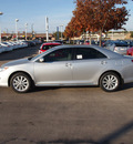 toyota camry 2012 silver sedan xle gasoline 4 cylinders front wheel drive automatic 76116
