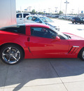chevrolet corvette 2013 red coupe z16 grand sport gasoline 8 cylinders rear wheel drive shiftable automatic 77090