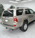 toyota 4runner 2004 gray suv sr5 gasoline 6 cylinders rear wheel drive automatic 91731
