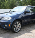 bmw x5 2013 blue suv xdrive35i sport activity gasoline 6 cylinders all whee drive automatic 27616