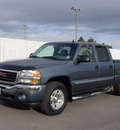 gmc sierra 1500 classic 2007 blue slt z71 flex fuel 8 cylinders 4 wheel drive automatic with overdrive 99352