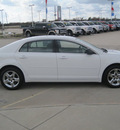 chevrolet malibu 2012 white sedan 4dr sdn ls gasoline 4 cylinders front wheel drive automatic 77578