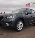 mazda cx 5 2013 dk  gray grand touring gasoline 4 cylinders all whee drive automatic 80504