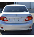 toyota corolla 2009 silver sedan xle gasoline 4 cylinders front wheel drive automatic 76401