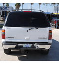 chevrolet tahoe 2002 white suv lt flex fuel 8 cylinders rear wheel drive automatic 78501