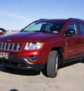 jeep compass 2013 red deep cherry r suv latitude gasoline 4 cylinders 2 wheel drive cont  variable trans  76230