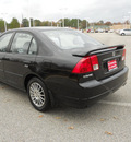 honda civic 2005 black sedan ex special edition gasoline 4 cylinders front wheel drive 5 speed manual 75604