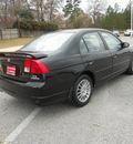honda civic 2005 black sedan ex special edition gasoline 4 cylinders front wheel drive 5 speed manual 75604