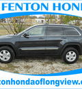 jeep grand cherokee 2012 dk  blue suv laredo gasoline 6 cylinders 2 wheel drive automatic 75606