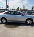 chevrolet impala 2013 silver sedan lt flex fuel 6 cylinders front wheel drive not specified 77090