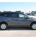 chevrolet traverse 2012 gray suv ls gasoline 6 cylinders front wheel drive automatic with overdrive 77090