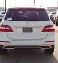 mercedes benz m class 2012 white suv ml350 4matic gasoline 6 cylinders all whee drive shiftable automatic 77074